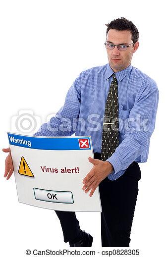 Virus alert - csp0828305