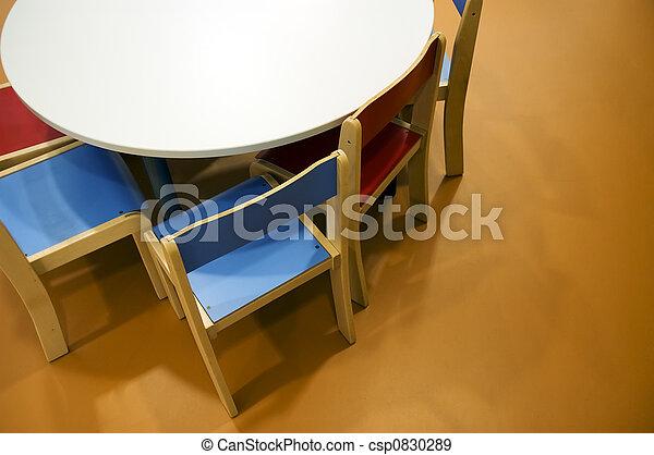 Kindergarten room - csp0830289
