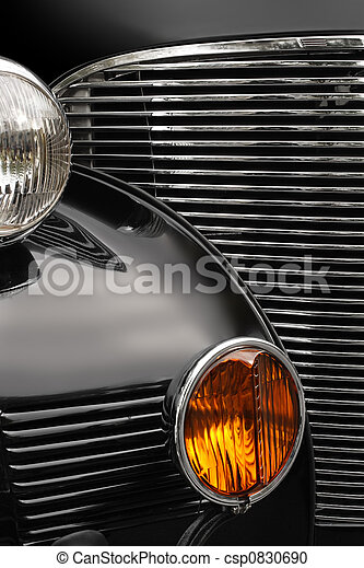 Antique car grill - csp0830690