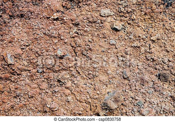 Volcanic soil - csp0830758