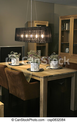 dinner table - csp0832084