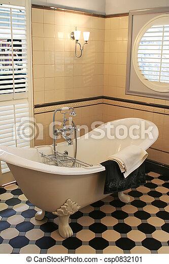 stock fotografie von stil bad zimmer klassisch. Black Bedroom Furniture Sets. Home Design Ideas