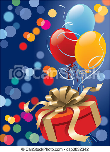 Xmas gift - csp0832342