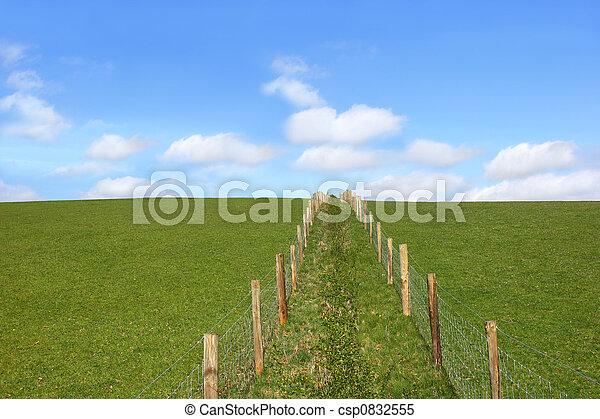 Rural Fencing - csp0832555
