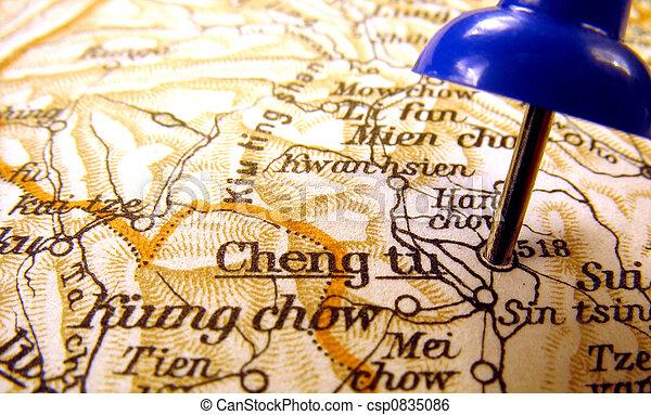 Chengdu, China - csp0835086