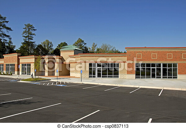 New Commercial Building - csp0837113