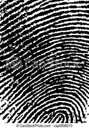 FingerPrint Crop 6 - Low Poly Count - csp0838210