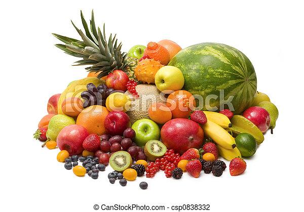 Fruits - csp0838332