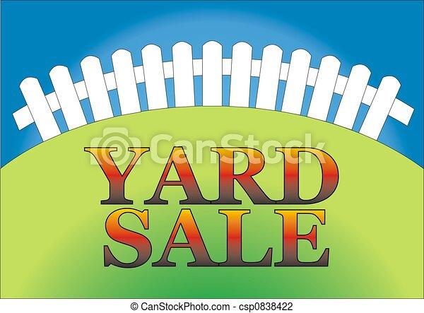 Yard Sale 2 - csp0838422