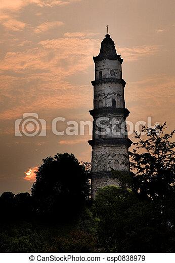 Pagoda Shaoxing China - csp0838979