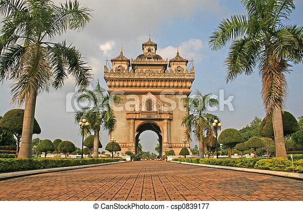 Laos Monument - csp0839177