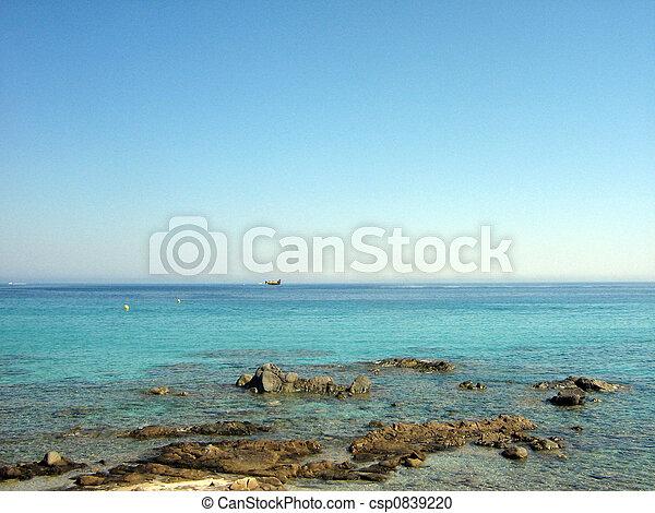 ile rousse\'s sea - csp0839220