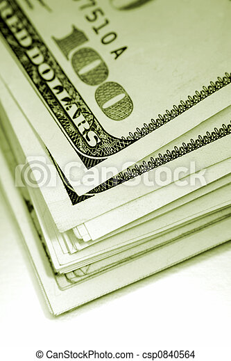 Stack of cash - csp0840564