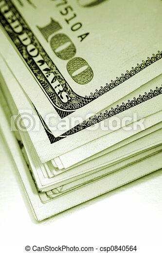 Stack of cash - csp0840564