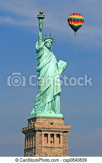The Statue of Liberty - csp0840839