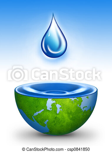 Water of the World - csp0841850
