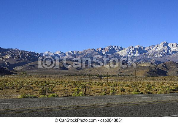 Sierra Nevada in Morning Light - csp0843851