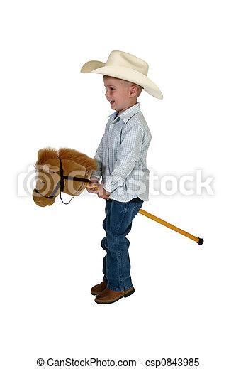 American Cowboy - csp0843985
