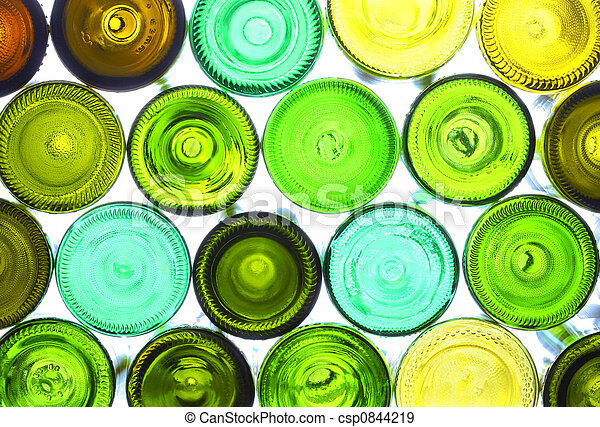 wine bottles - csp0844219