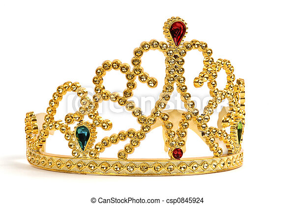 Gold Tiara - csp0845924