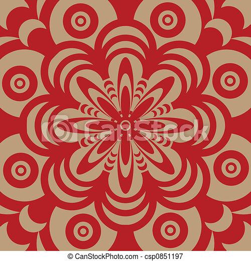 Stock illustraties van jaren 60 behang ontwerp abstract ge llustreerd csp0851197 zoek - Behang van de jaren ...