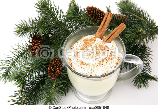 Holiday Eggnog - csp0851848