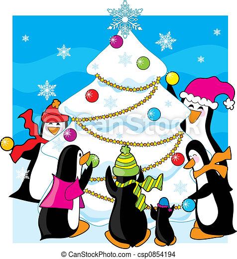 Ice Christmas - csp0854194