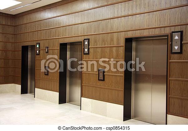 images de ascenseurs moderne moderne ascenseurs m tal portes csp0854315. Black Bedroom Furniture Sets. Home Design Ideas