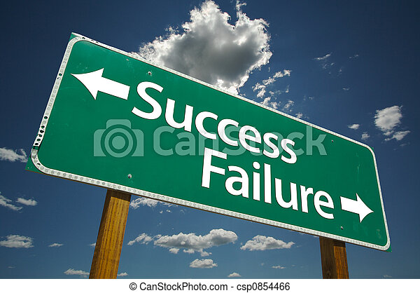 Success and Failure Sign - csp0854466