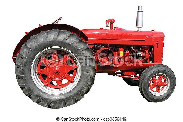 Vintage McCormick Diesel Tractor - csp0856449