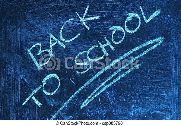 Back to school - csp0857981