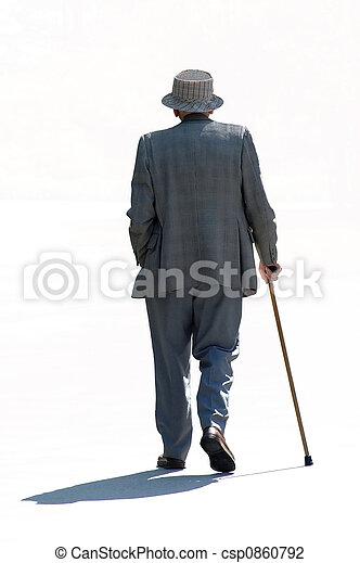 Strolling Senior - csp0860792