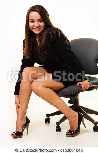 Sexy Frauen Im Büro