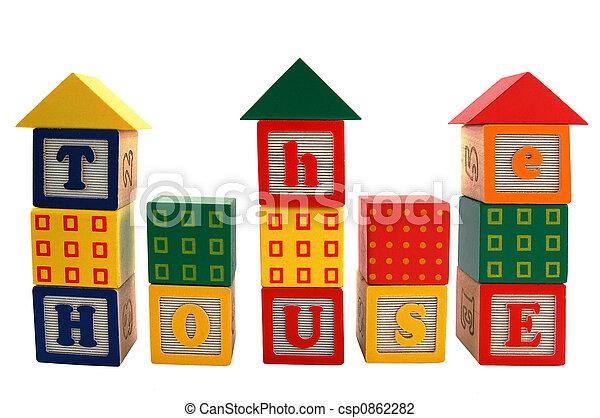 Toy house - csp0862282
