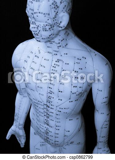 Acupuncture Concept - csp0862799