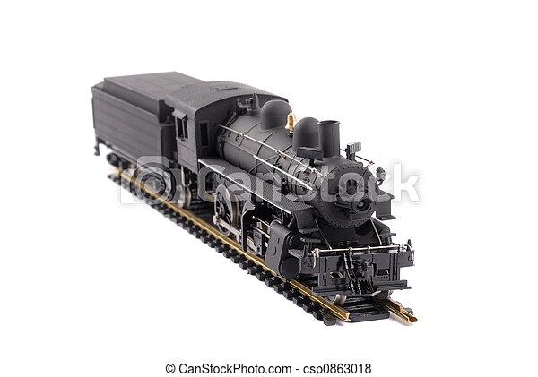 Steam Locomotive Train - csp0863018