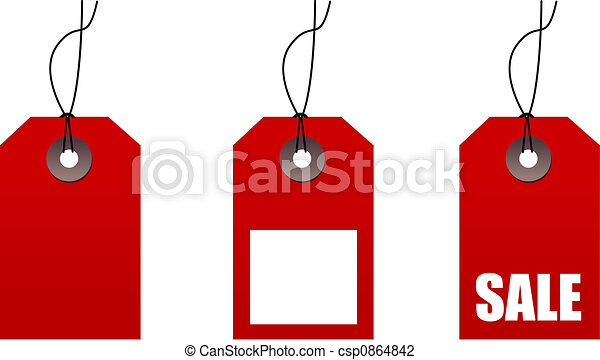 sale tags - csp0864842