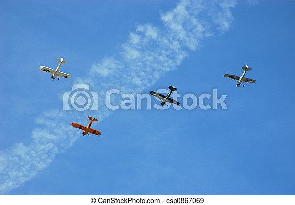 Squadron of Antique Aircraft - csp0867069