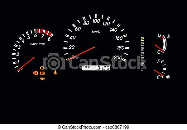 Armaturenbrett auto  Stockfotografien von auto, 2, armaturenbrett - auto ...