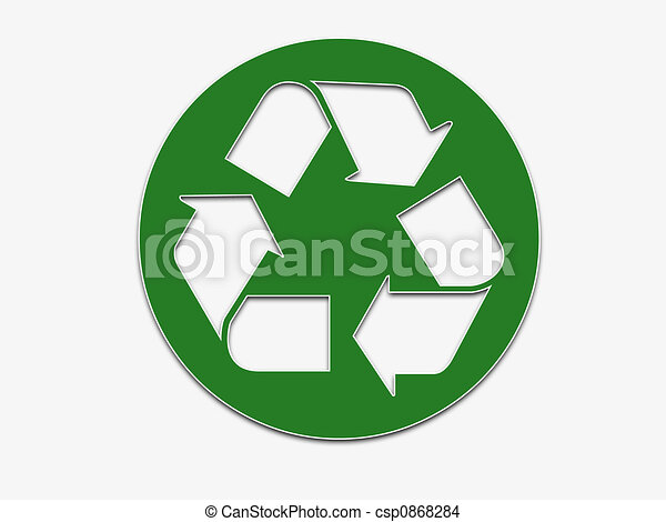 Cool Recycling Drawings Large Recycling Symbol Drawing