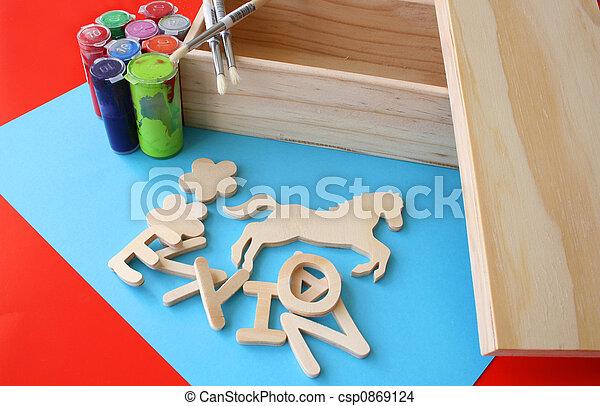 Arts and Crafts - csp0869124