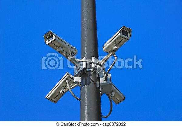 Security Cameras - csp0872032