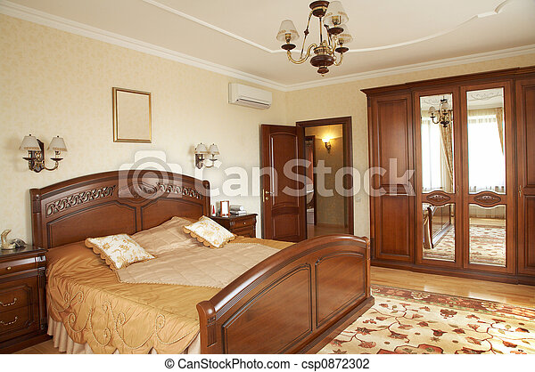 bedroom with the conditioner - Modele De Chambre A Coucher Moderne