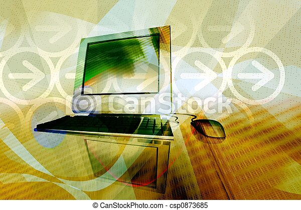 IT technology business - csp0873685