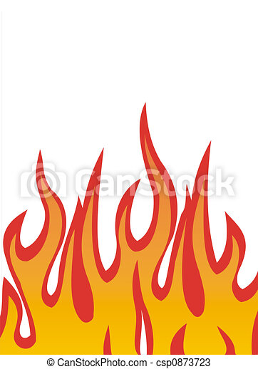 Fire flames vector - csp0873723