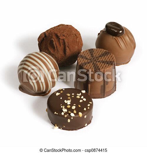 Chocolate gathering - csp0874415