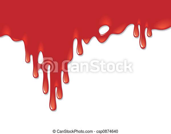 Bloody background - csp0874640