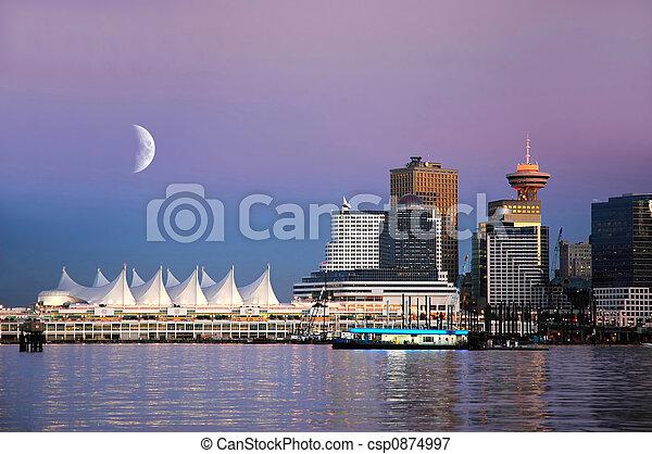 加拿大, 地方, 溫哥華 - csp0874997