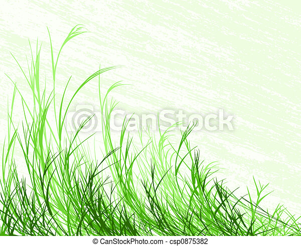 Blowing grass - csp0875382