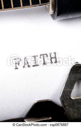 Faith - csp0876887